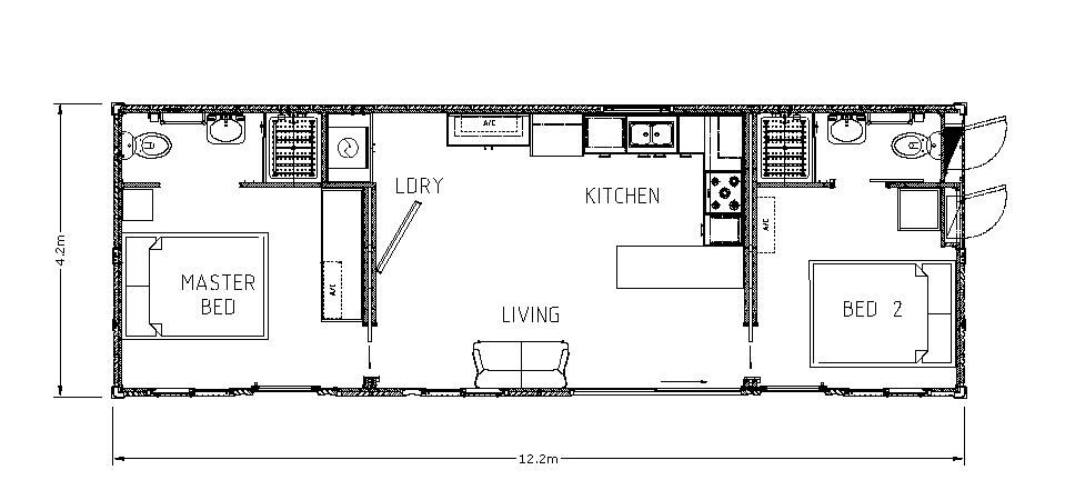 The Gem Display - Floor Plan